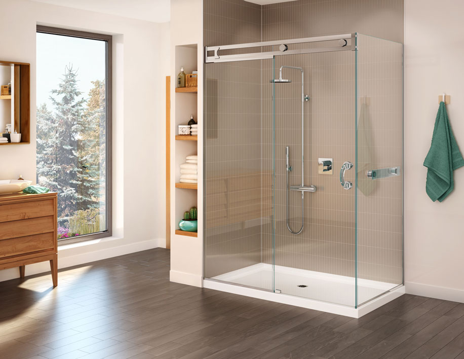 Glass shower | West Island and Vaudreuil-Dorion
